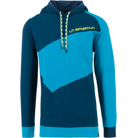 La Sportiva Magic Wood Midlayer Heren blauw/turquoise